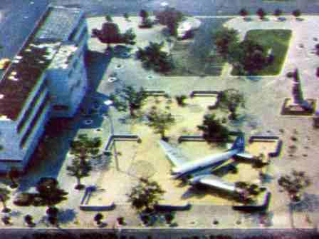 Praça da Saudade – O avião voou!