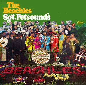 Três discos, uma conexão. (Beatles x Beach Boys)