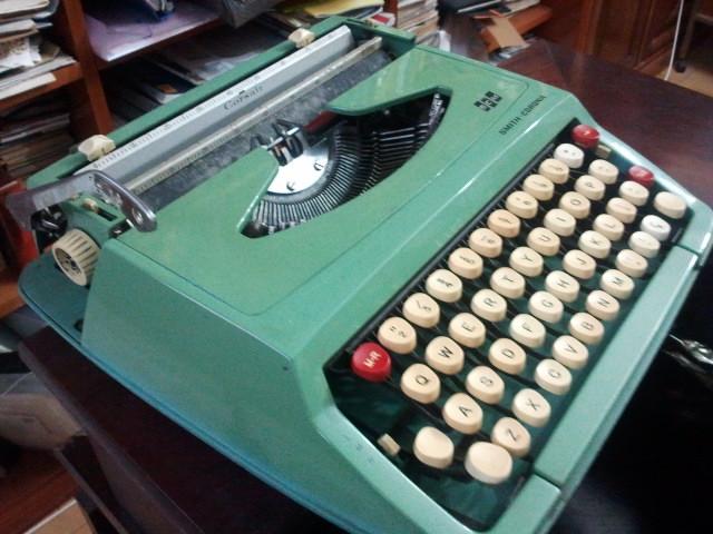 """""""Máquina de escrever""""–As batidas antes da digitação"""
