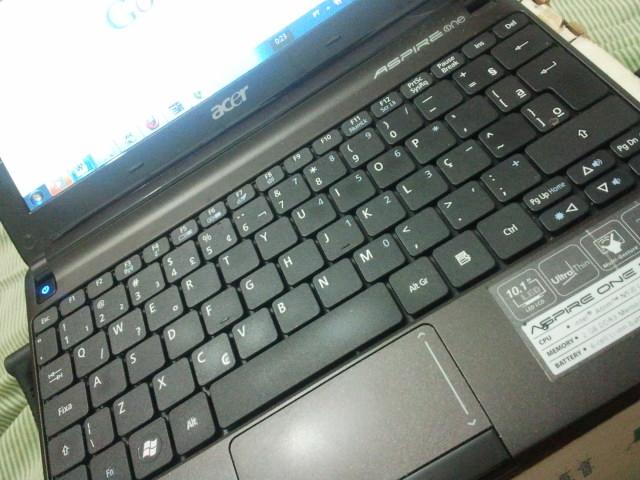 Acer Aspire One – o netbook – meu companheiro de guerra