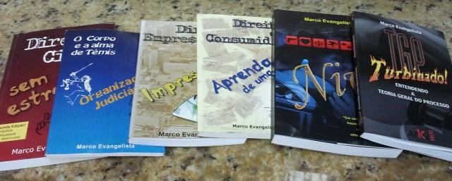 Meus livros já lançados