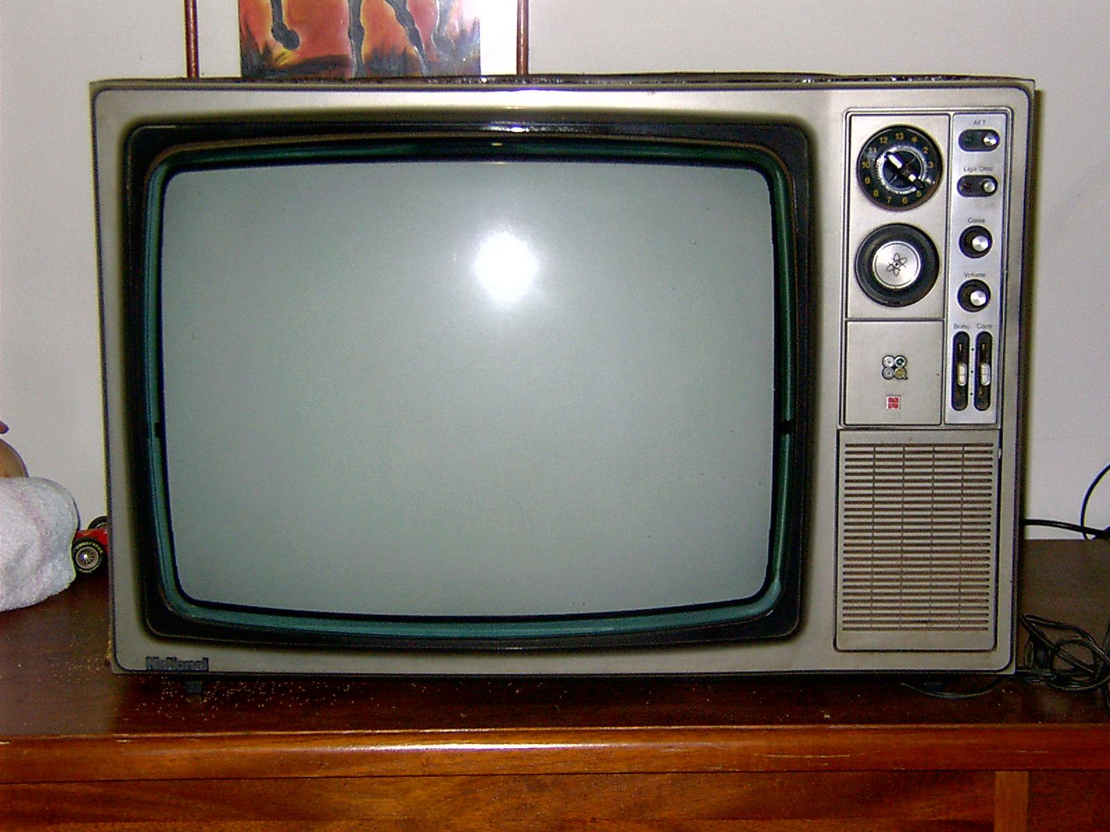 Os aparelhos de TVs dos 80´s