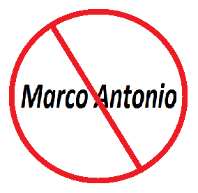 "ODEIO ser chamado de ""Marco Antônio"""