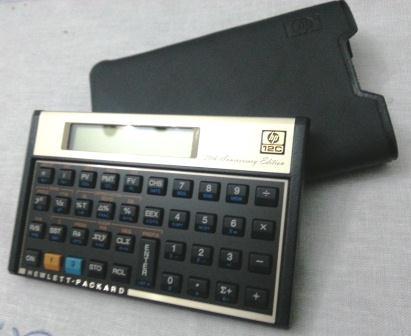 Calculadora HP 12C – O tempo passa, ela não.