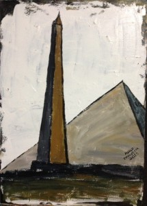 """Obelisco e Pirâmide"""