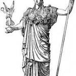 Minerva, a deusa romana das artes.