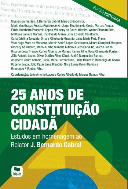"""[resenha] Livro """"25 anos de Constituição Cidadã"""""""