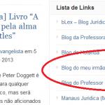 lista de links EvangeBlog