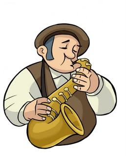 Admito MUITO quem consegue tocar instrumento de sopro - rapaz, dificílimo isso aí...