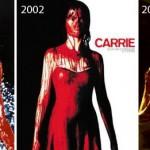 """""""Carrie, a estranha"""" (filme) de 1976 x 2013"""