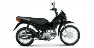 Essa é uma Honda Pop 100, será a primeira máquina que comprarei assim que tiver a CNH para duas rodas.