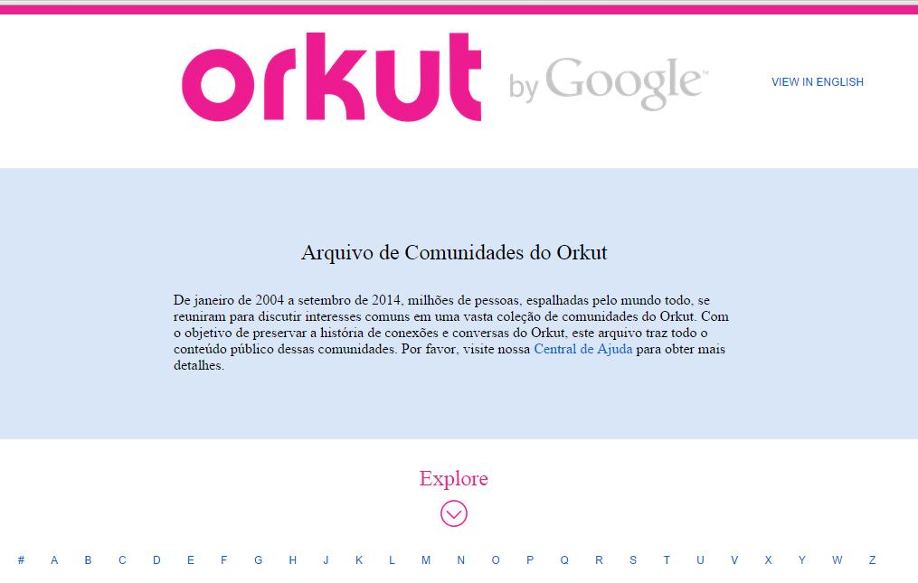 30 coisas que aprendemos com o Orkut