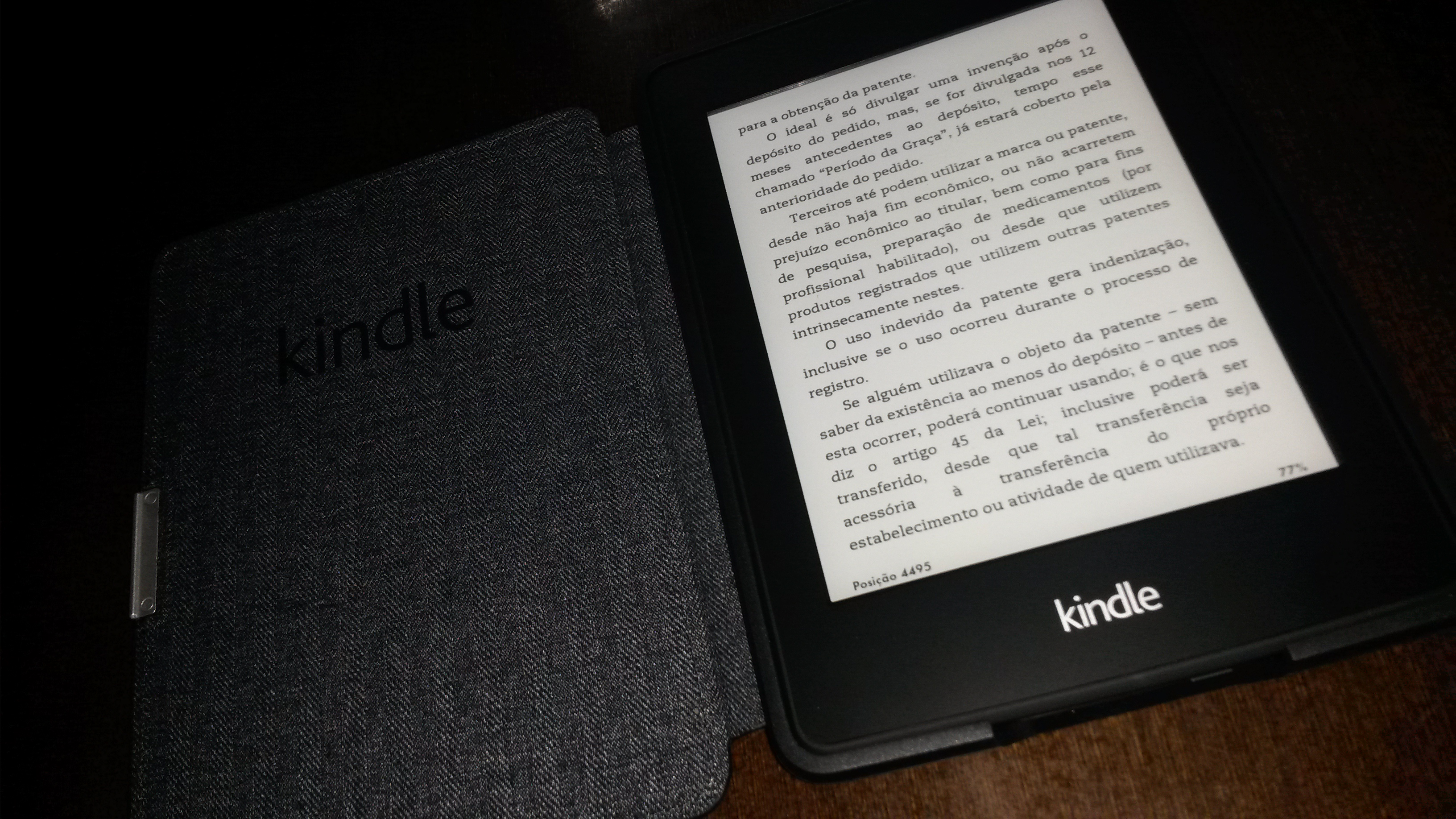 Kindle Paperwhite (eReader da Amazon) [resenha]