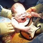 Como nasce um roqueiro