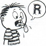 """Esse meu """"R"""" estranho…"""