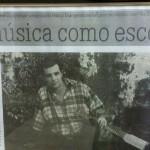 "A matéria sobre o CD ""A Cordas, Eu e o Nada"" (Jornal ""A Crítica"" – 2007)"