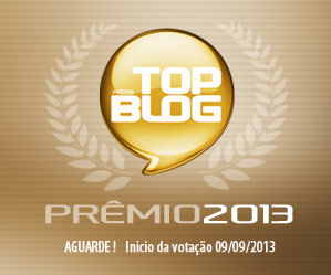 "Estamos participando do ""Top Blog 2013"""
